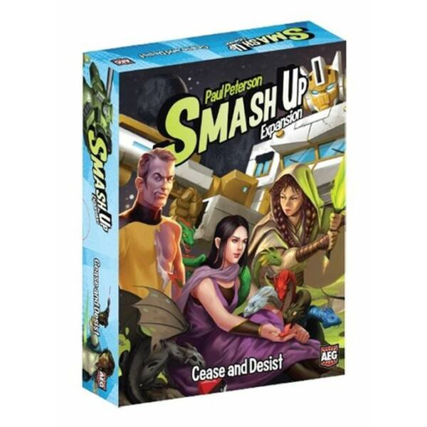 Smash Up: Cease and Desist kiegészítő - Egyszerbolt Társasjáték Webáruház