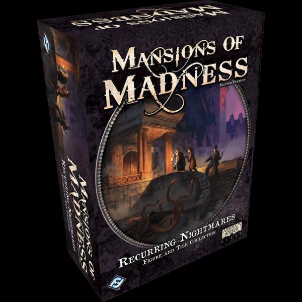 Mansions of Madness 2. kiadás - Recurring Nightmares kiegészítő - Egyszerbolt Társasjáték Webáruház