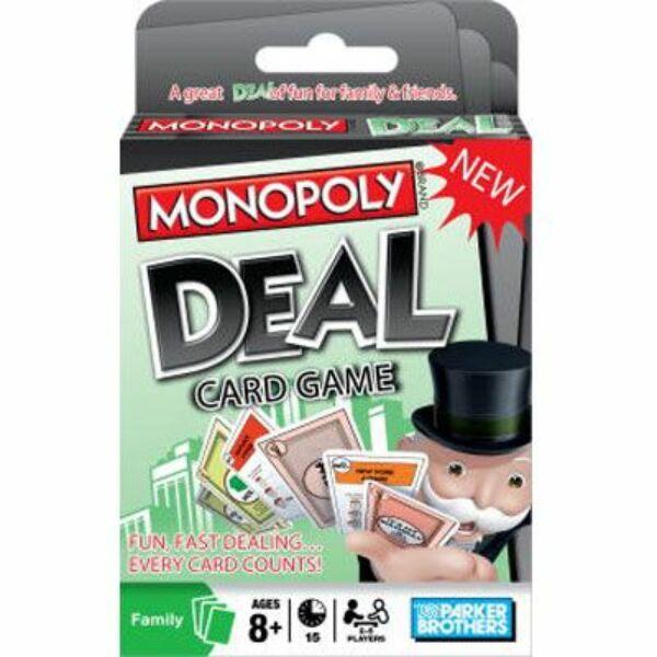 Monopoly Deal Kártyajáték - Egyszerbolt Társasjáték Webáruház
