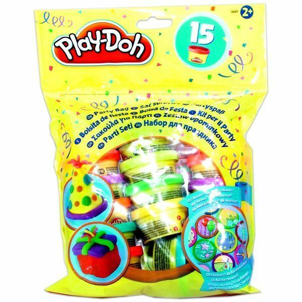 Play-Doh party tasak 15 tégelyes utántöltő készlet - Egyszerbolt Társasjáték Webáruház