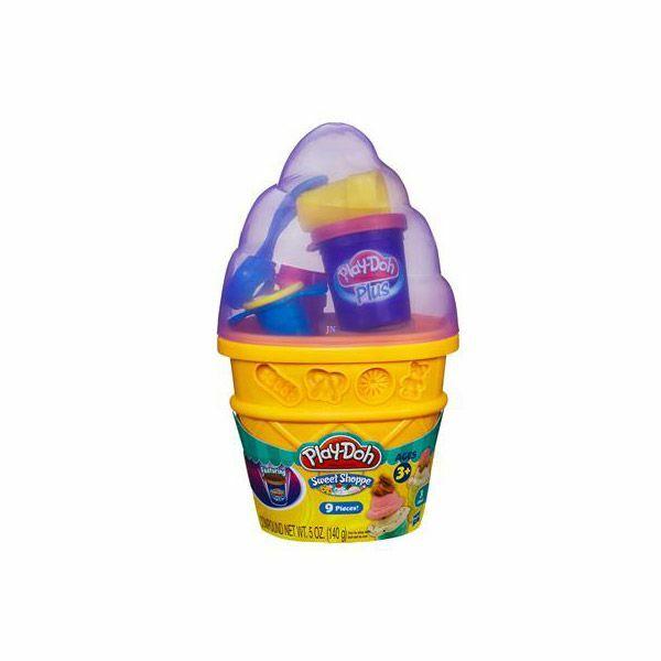 Play-Doh fagyi tégelyes gyurmakészlet - zöld - Egyszerbolt Társasjáték Webáruház