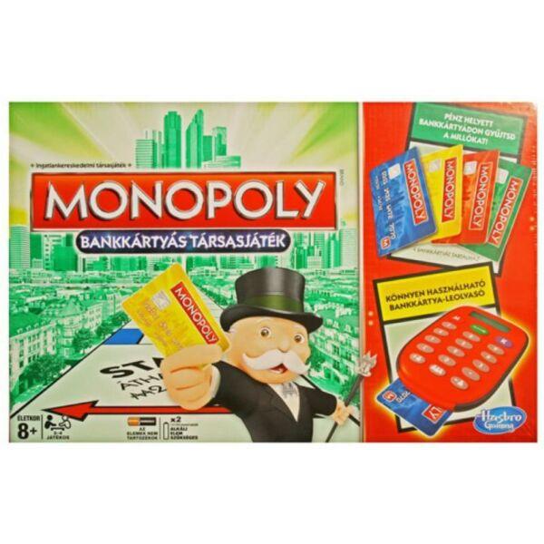 Monopoly Bankkártyás társasjáték - Egyszerbolt Társasjáték Webáruház