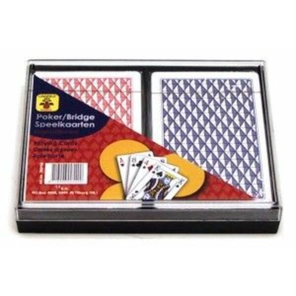 Kártya 2*55 lap, műanyag dobozban 750116 - Egyszerbolt Társasjáték Webáruház