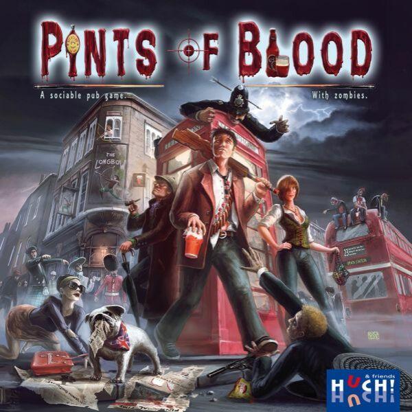 Pints of Blood - Egyszerbolt Társasjáték Webáruház