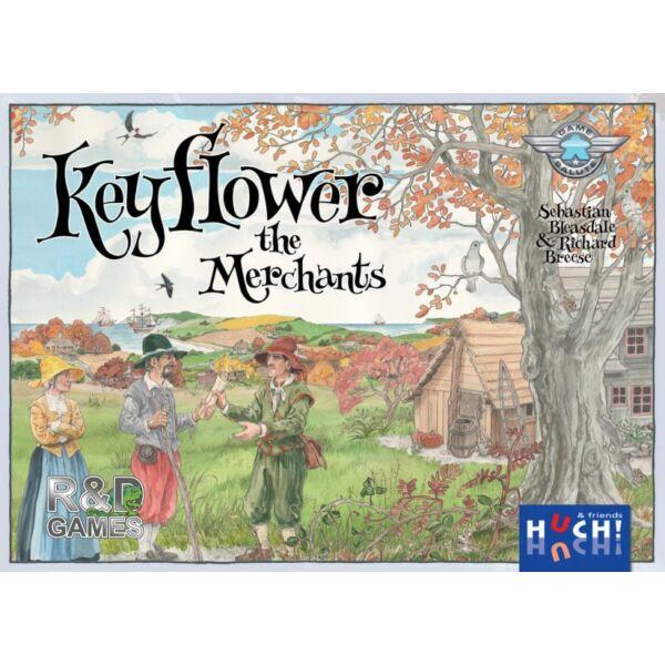 Keyflower: The Merchants kiegészítő - Egyszerbolt Társasjáték Webáruház