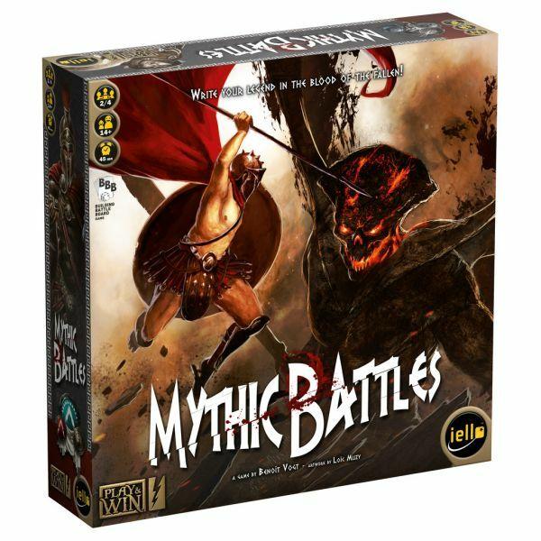 Mythic Battles - Egyszerbolt Társasjáték Webáruház