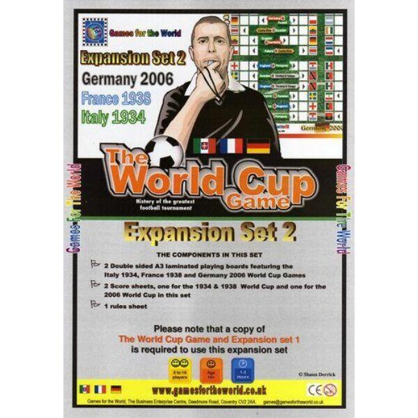 The World Cup Game - expansion set 2 - Egyszerbolt Társasjáték Webáruház
