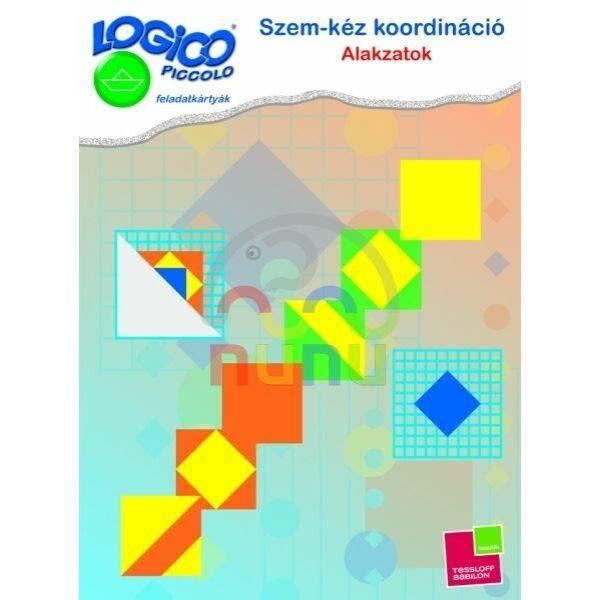 Logico Piccolo Szem-kéz koordináció: Alakzatok 3466 - Egyszerbolt Társasjáték Webáruház