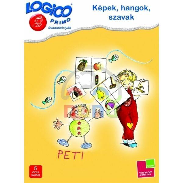 Logico Primo Képek, hangok, szavak 3229 - Egyszerbolt Társasjáték Webáruház