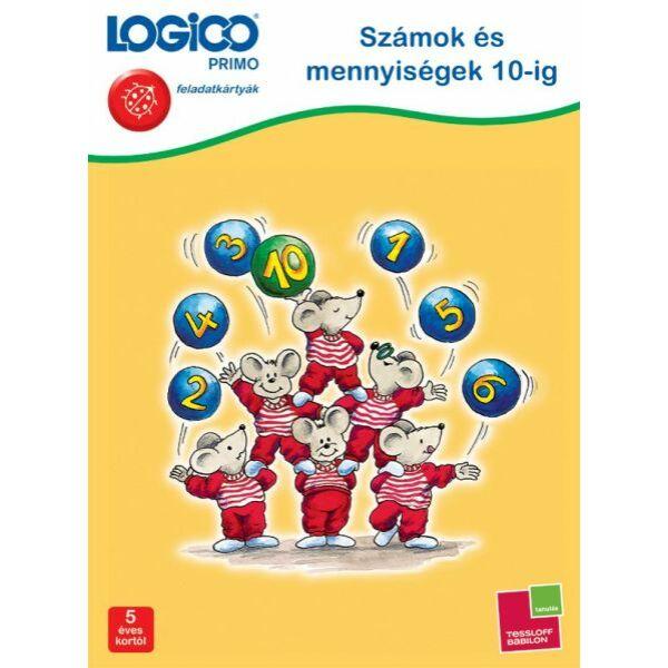 Logico Primo Számok és mennyiségek 10-ig 3226 - Egyszerbolt Társasjáték Webáruház