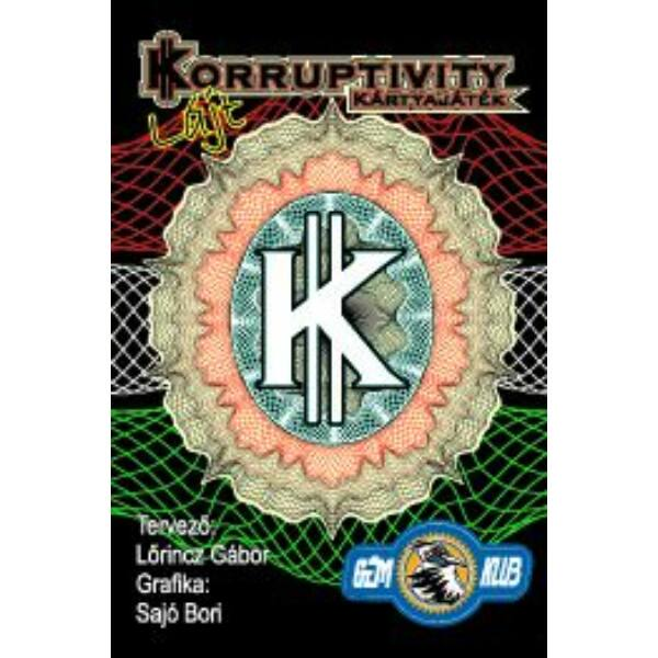 """Korruptivity """"Lájt"""" - Egyszerbolt Társasjáték Webáruház"""