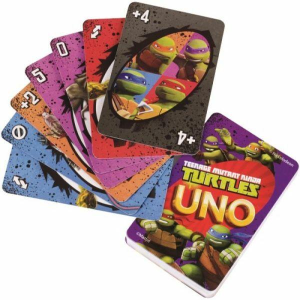 Uno kártya Tini nindzsa Teknőcök - Egyszerbolt Társasjáték Webáruház