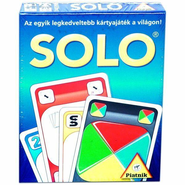 Solo kártyajáték - Egyszerbolt Társasjáték Webáruház