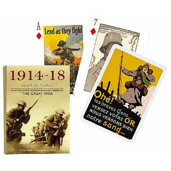 Francia kártya egyedi előlappal - az I. Világháború - Egyszerbolt Társasjáték Webáruház