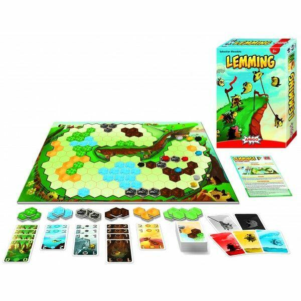 Lemmingek társasjáték - Egyszerbolt Társasjáték Webáruház