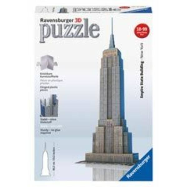 3D Puzzle - Empire State Building - Egyszerbolt Társasjáték Webáruház