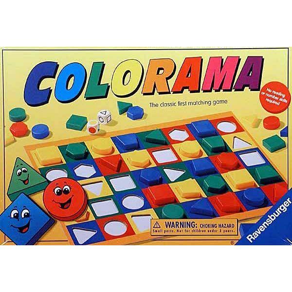 Ravensburger Colorama társasjáték - Egyszerbolt Társasjáték Webáruház