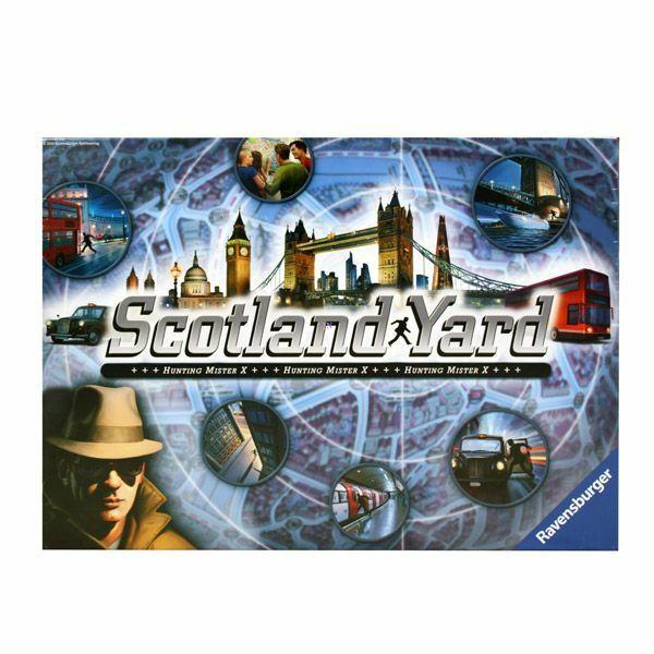 Ravensburger Scotland Yard társasjáték - új kiadás - Egyszerbolt Társasjáték Webáruház