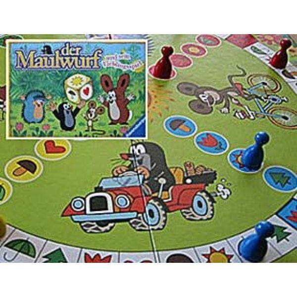 Ravensburger Kisvakond és barátai társasjáték - Egyszerbolt Társasjáték Webáruház