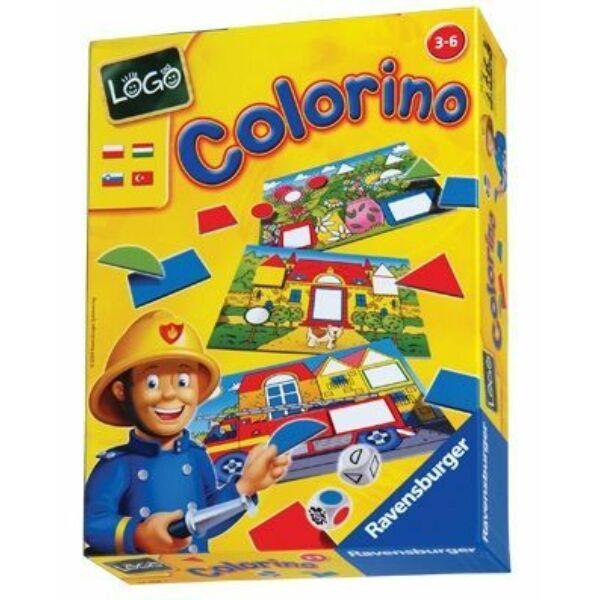 Ravensburger Logo Colorino oktató játék - Egyszerbolt Társasjáték Webáruház