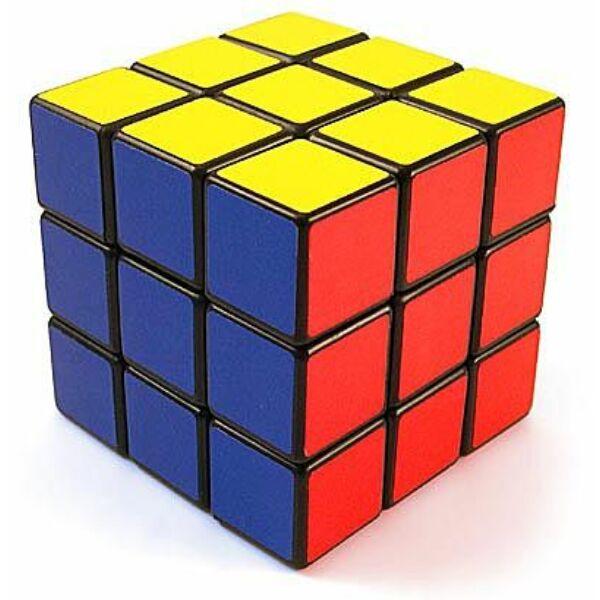 Rubik kocka 3x3X3 kék dobozos - Egyszerbolt Társasjáték Webáruház