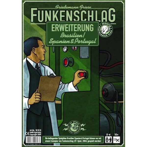 Funkenschlag (Power Grid) 5. kiegészítő: Brazília/Spanyolország & Portugália - Egyszerbolt Társasjáték Webáruház