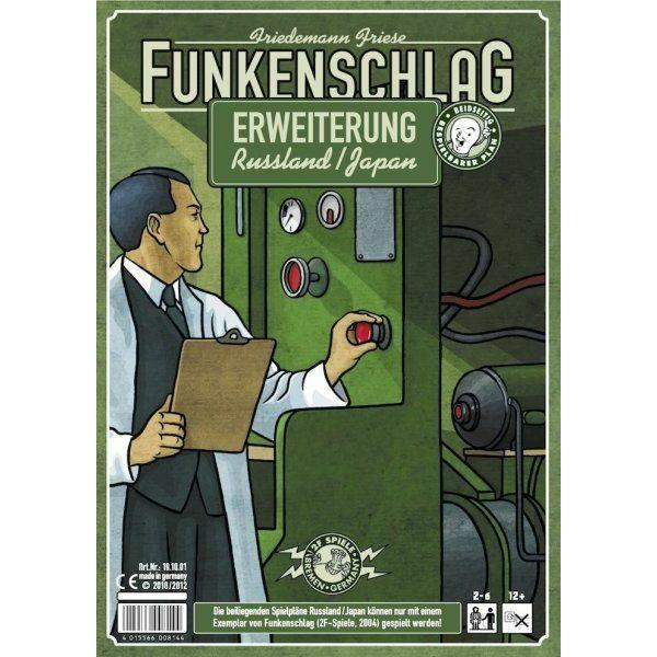 Funkenschlag (Power Grid) 6. kiegészítő: Oroszország/Japán - Egyszerbolt Társasjáték Webáruház