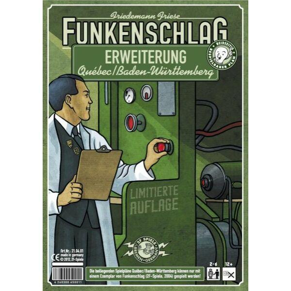 Funkenschlag (Power Grid): Quebec/Baden-Württemberg - Egyszerbolt Társasjáték Webáruház
