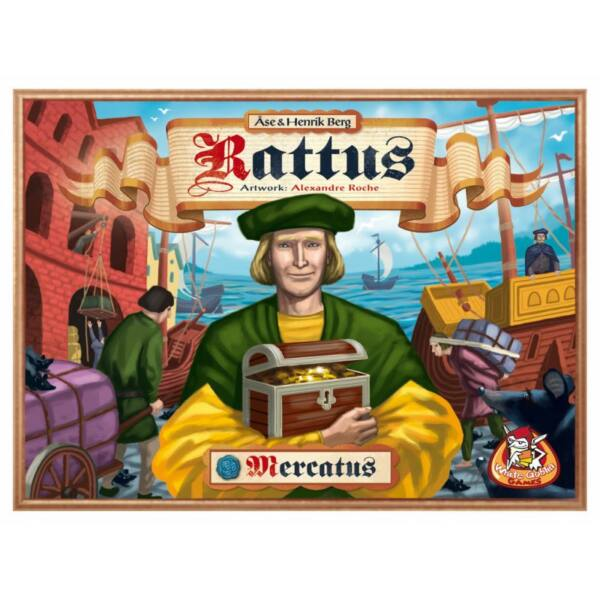 Rattus Mercatus - Egyszerbolt Társasjáték Webáruház