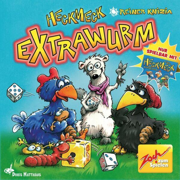 Heckmeck Extrawurm - kiegészítő - Egyszerbolt Társasjáték Webáruház