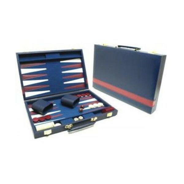 Backgammon készlet 46*30 cm 604180 - Egyszerbolt Társasjáték Webáruház