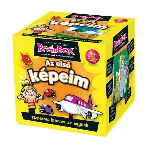 Brainbox - Az első képeim - 4 éves kortól - Egyszerbolt Társasjáték Webáruház