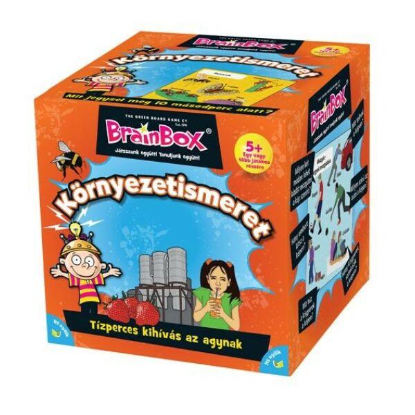 Brainbox - Környezetismeret - 5 éves kortól - Egyszerbolt Társasjáték Webáruház