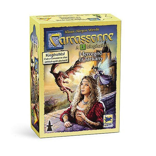 Carcassonne: 3. kiegészítés A hercegnő és a sárkány - Egyszerbolt Társasjáték Webáruház