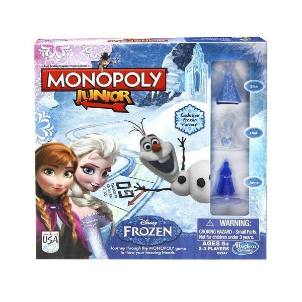 Monopoly Junior Jégvarázs - családi társasjáték 5 éves kortól - Egyszerbolt Társasjáték Webáruház