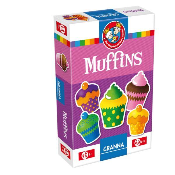 Granna Muffins - képességfejlesztő társasjáték 5 éves kortól - Egyszerbolt Társasjáték Webáruház
