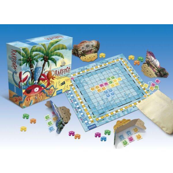 Rákfogó társasjáték  - logikai 7 éves kortól társasjáték - Granna - Egyszerbolt