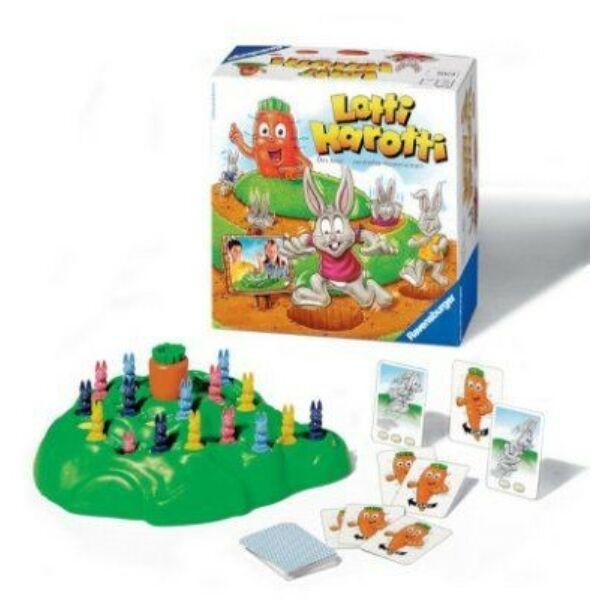 Ravensburger Lotti Karotti társasjáték - 4 éves kortól - Egyszerbolt Társasjáték Webáruház