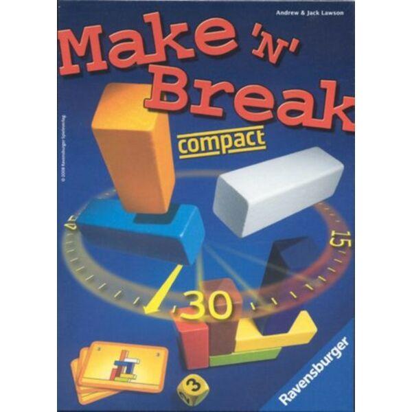 Ravensburger Make'n Break compact - képességfejlesztő  társasjáték 8 éves kortól -- Egyszerbolt Társasjáték Webáruház