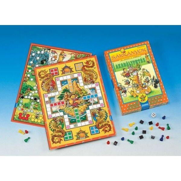 Sárkányok és Akadályfutás  - családi társasjáték 5 éves kortól - Granna - Egyszerbolt