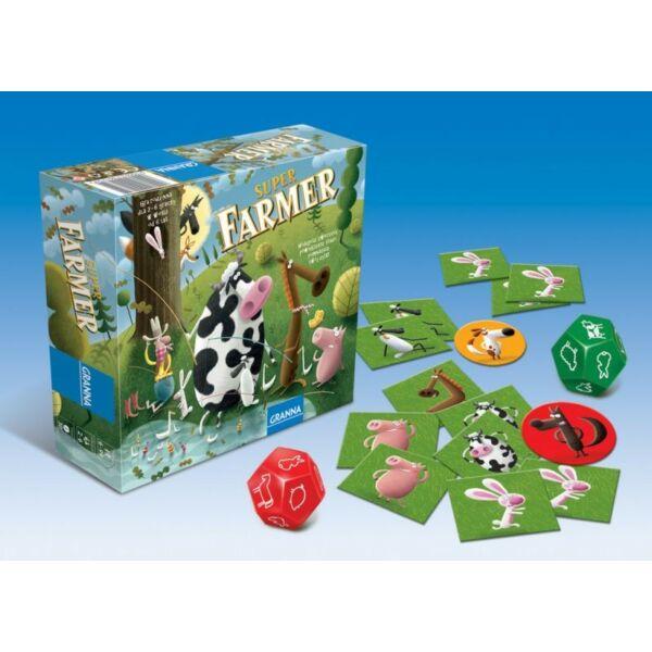 Szuper Farmer Midi  - logikai társasjáték 6 éves kortól - Granna - Egyszerbolt