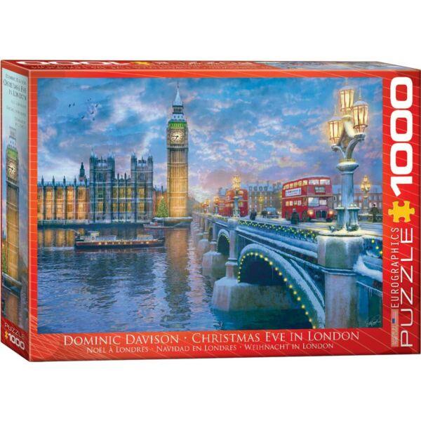 Christmas Eve in London - Karácsony este Londonban - Eurographics 6000-0916 - 1000 db-os puzzle