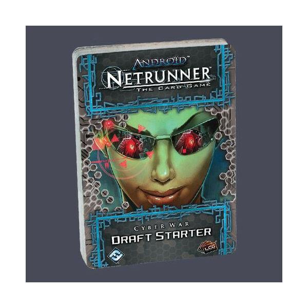 Android: Netrunner - Cyber War Draft Pack Starter - Egyszerbolt Társasjáték Webáruház