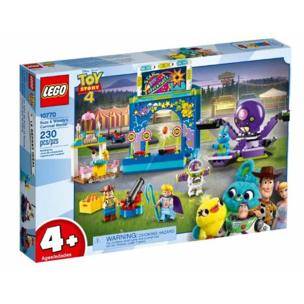 LEGO 4+ - Buzz és Woody Karneválmániája! 10770