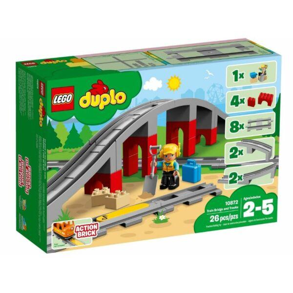 LEGO DUPLO Town - Vasúti híd és sínek 10872