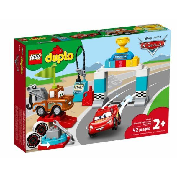 LEGO DUPLO Cars  - Villám McQueen versenyének napja 10924