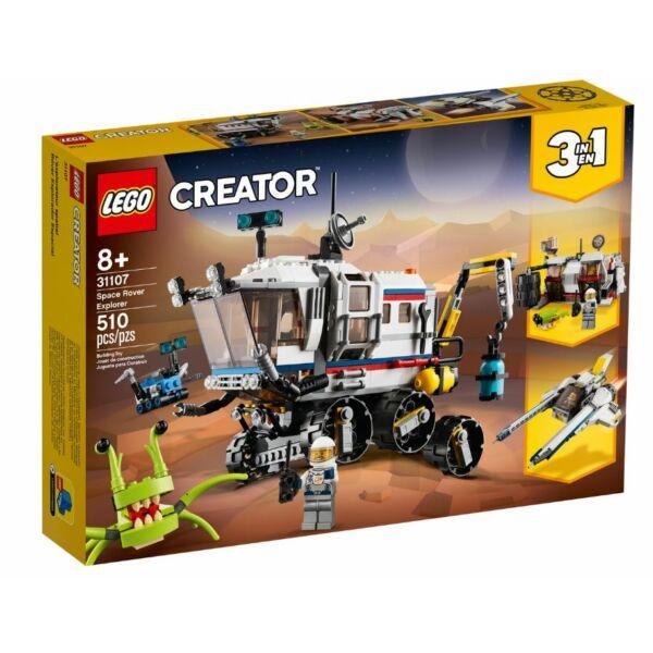 LEGO  Creator - Kutató űrterepjáró 31107