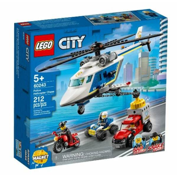 LEGO City Police - Rendőrségi helikopteres üldözés 60243