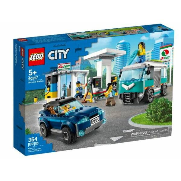 LEGO City Nitro Wheels - Benzinkút 60257