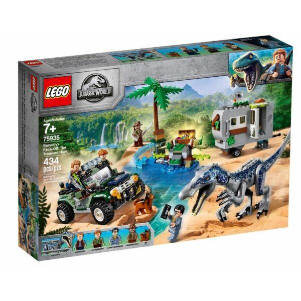 LEGO Jurassic World - Baryonyx bonyodalom: A kincsvadászat 75935